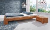 Rama łóżka PAU z litego drewna