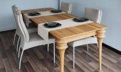Stół PARIS z rozsuwanym blatem z litego drewna