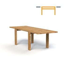 Stół JAMES z dostawkami