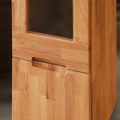 Witryna VENTO wąska z litego drewna