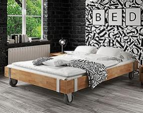 Rama łóżka WILL na kołach