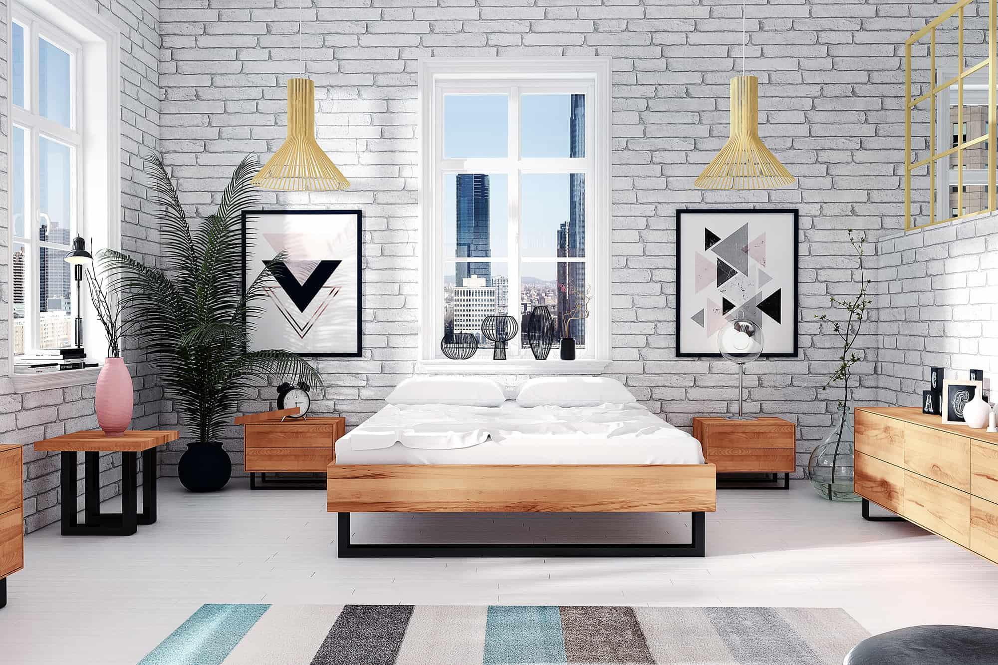 Zdjęcie 4 - Kolekcja STEEL do sypialni