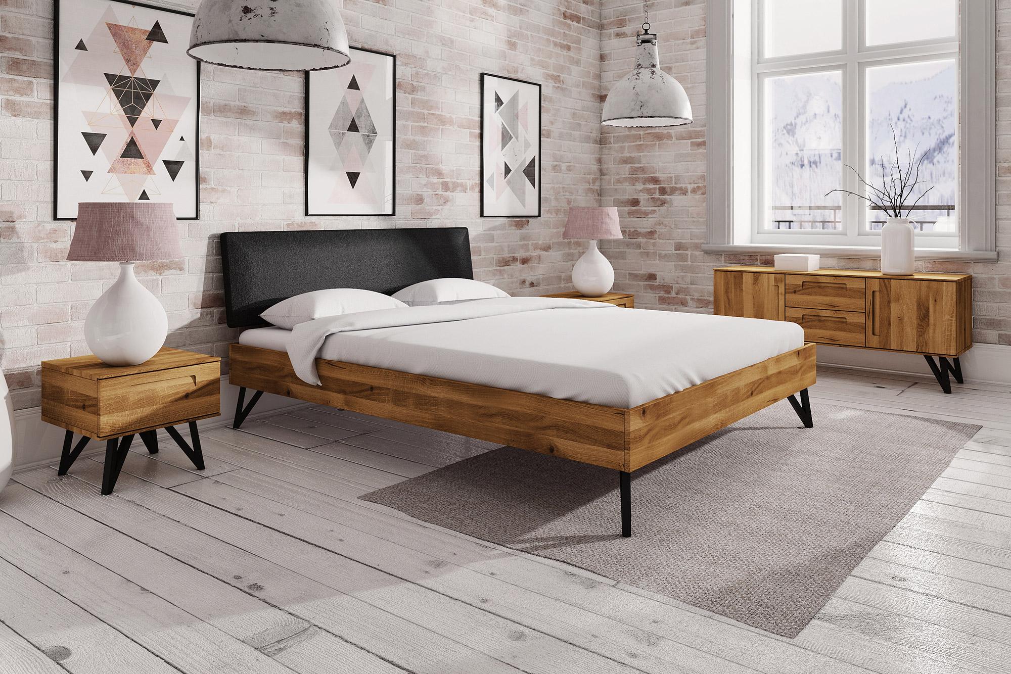 Zdjęcie 2 - GOLO - Kolekcja mebli do sypialni z drewna litego