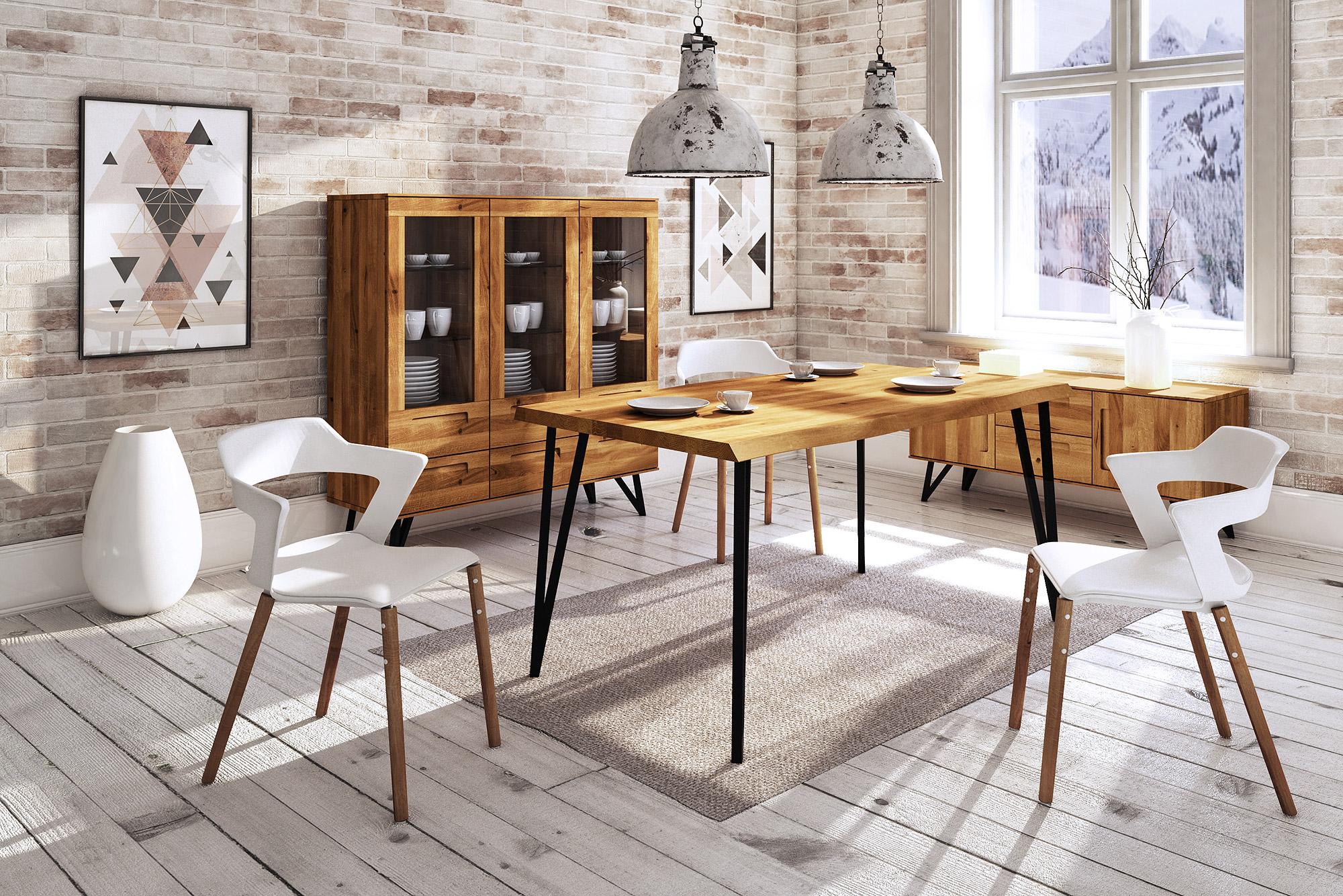 Zdjęcie 2 - GOLO - Kolekcja mebli do jadalni z drewna litego