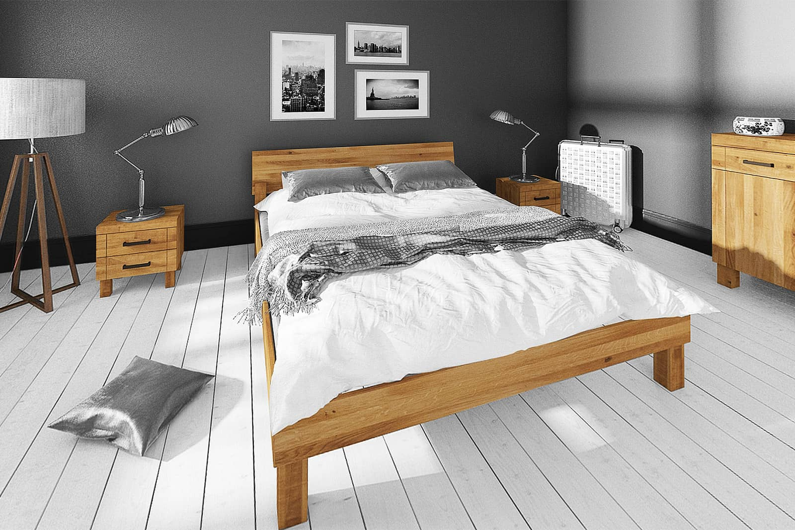 Zdjęcie 2 - Kolekcja BINGO do sypialni