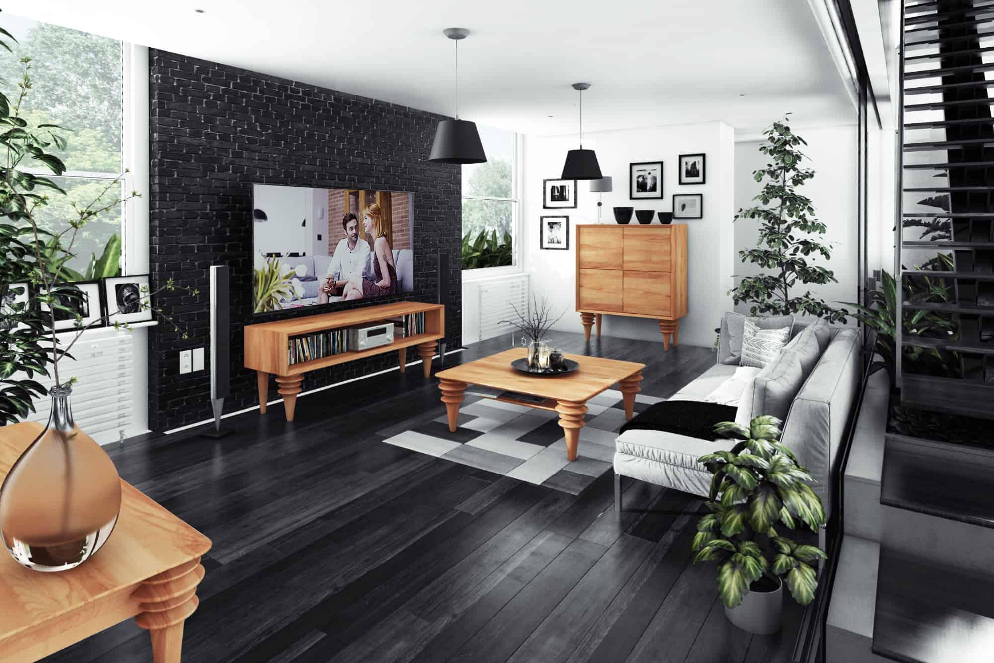 Dwukondygnacyjne mieszkanie z atrium - PANORAMA 360° powiększenie