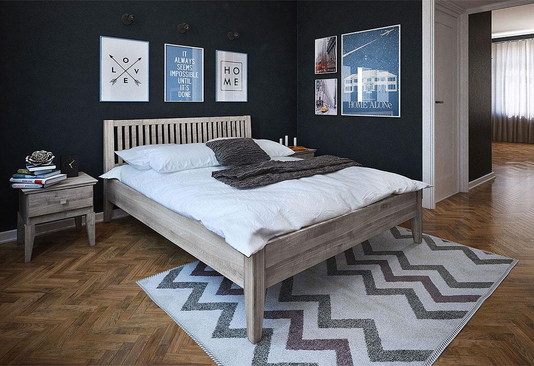 Panorama Przytulna, zaciszna, komfortowa i intymna - sypialnia (PANORAMA 360°)