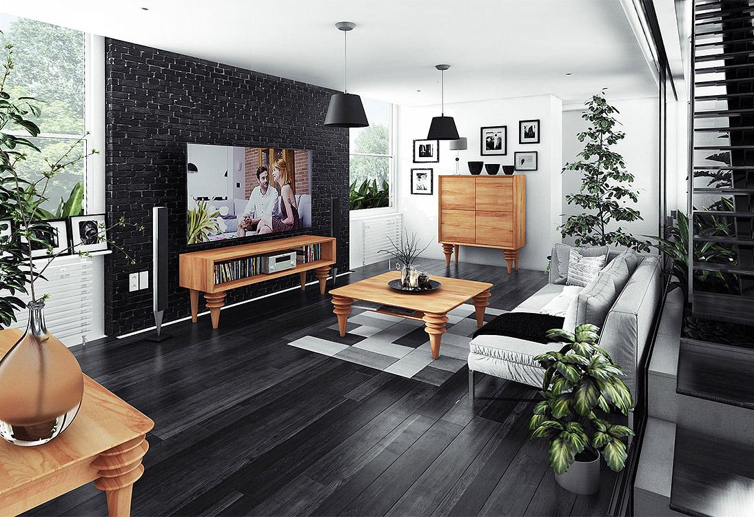 Panorama Dwukondygnacyjne mieszkanie z atrium - PANORAMA 360°