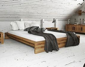 Rama łóżka CUBIC