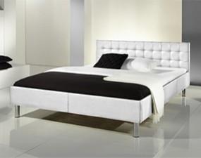 Łóżko FAN z ekoskóry