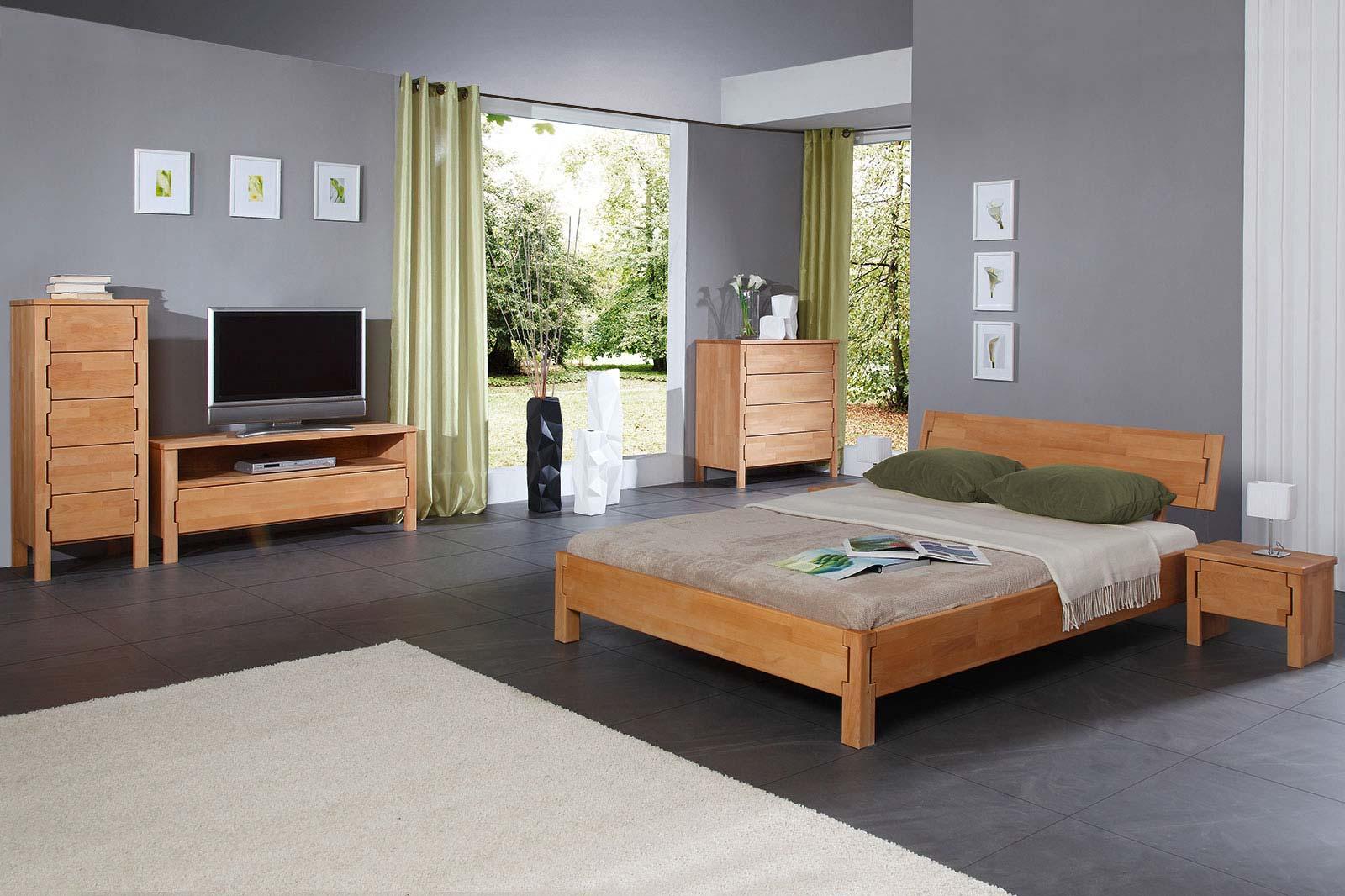 KOLI - Kolekcja mebli do sypialni z drewna litego · The Beds