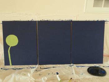 Malowanie łodygi