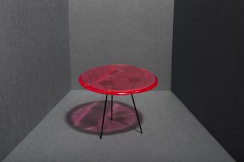 Arbuzowy stolik do kawy