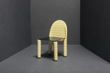 Krzesło z białej czekolady