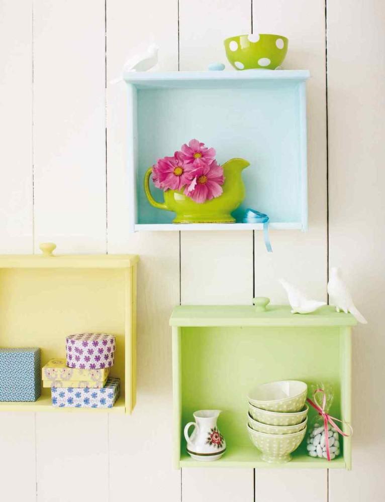 Niezwykłe pomysły na wykorzystanie starych szuflad!