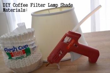 Przedmioty potrzebne do wykonania lampy
