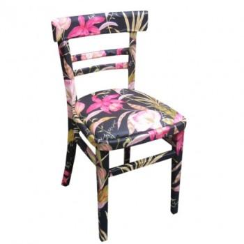 Krzesło w stylu Decoupage! Czyż to nie jest piękne?!