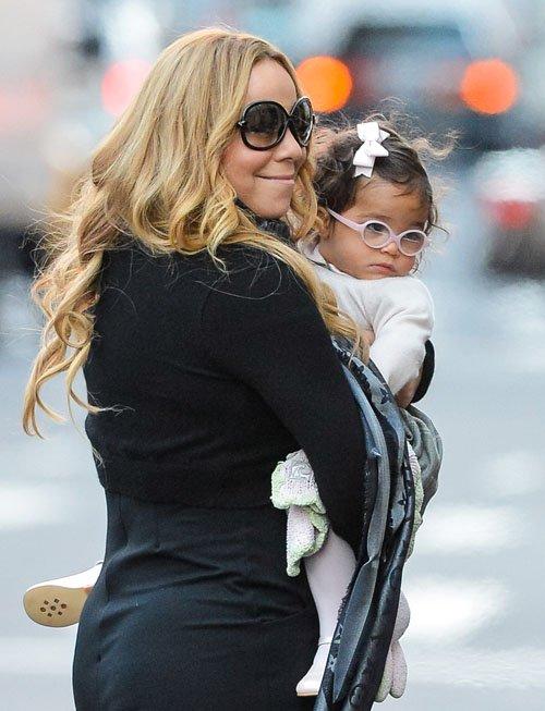 Mariah Carey z dzieckiem