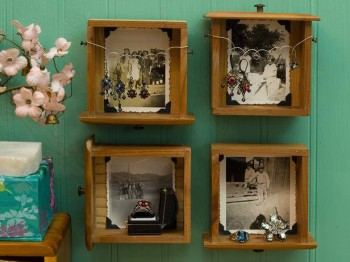Ramki do zdjęć z szuflad