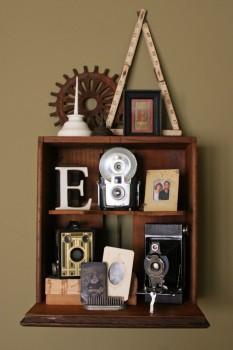 Szafka z szuflady w stylu vintage