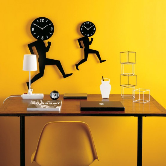Unusual and Unique Designs of Wall Clock, Catchy Home Decor Accessories from Diamanti & Domeniconi