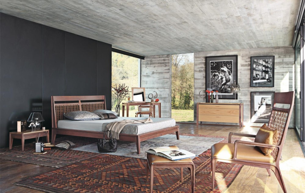 Amazing Grey Accents Wooden Bedroom Ideas For Wall Interior Design