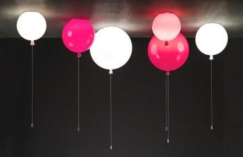 """Oryginalne lampy-balony z czeskiej kolekcji """"Memory""""!"""