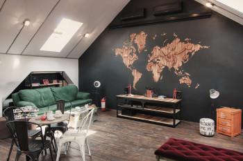 Wyjątkowe wnętrza rumuńskiego biura IT inspirowane barem kawowym!