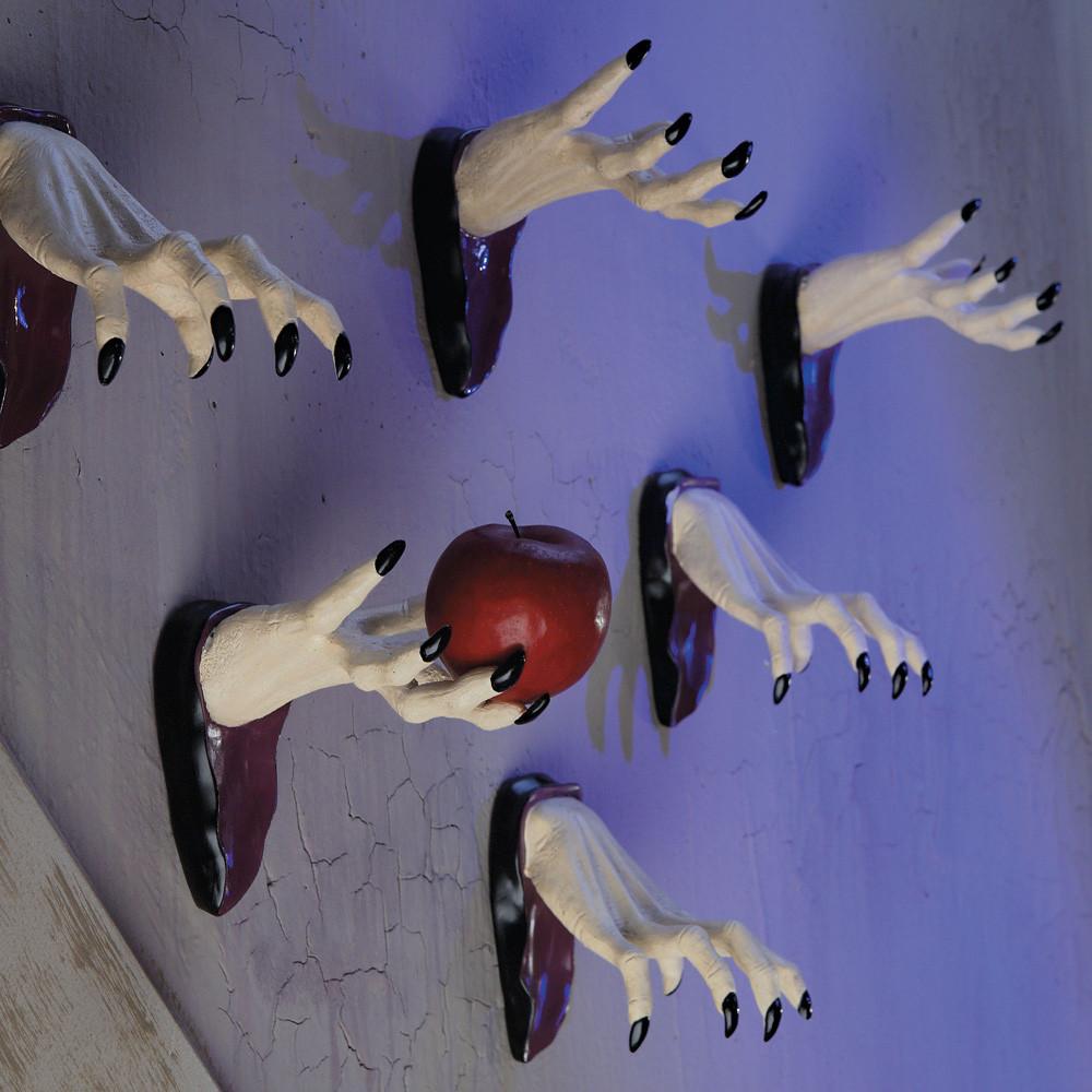 Przerażające dekoracje na Halloween! Aż strach się bać!