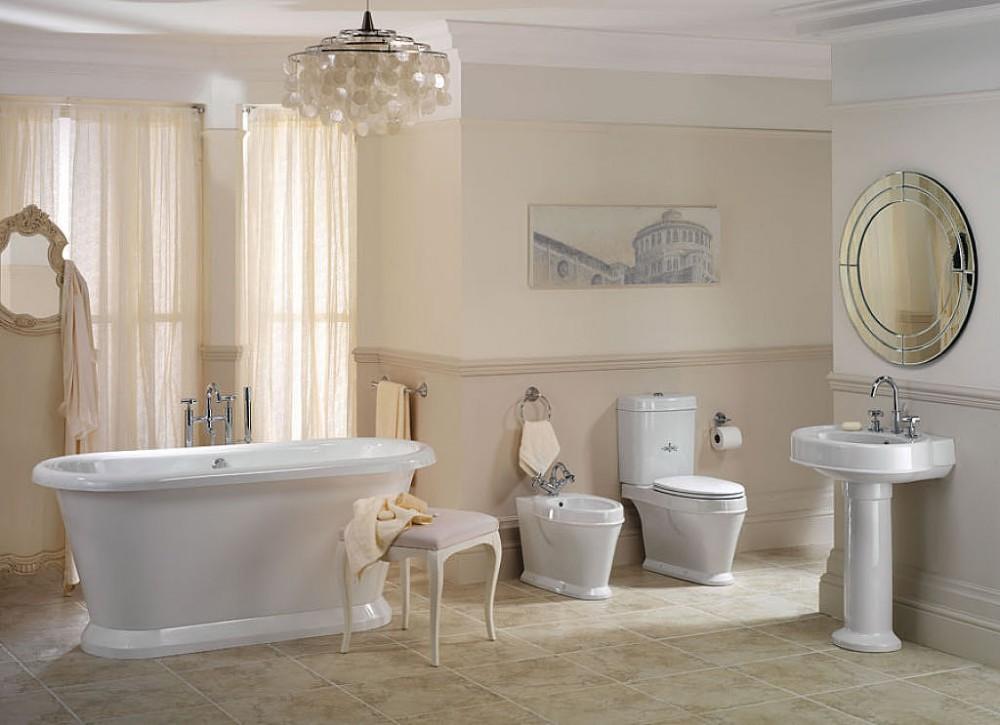 łazienka W Stylu Retro Wnętrza Bedspl