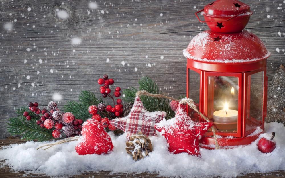Lampiony i latarnie - świąteczny klimat w domu