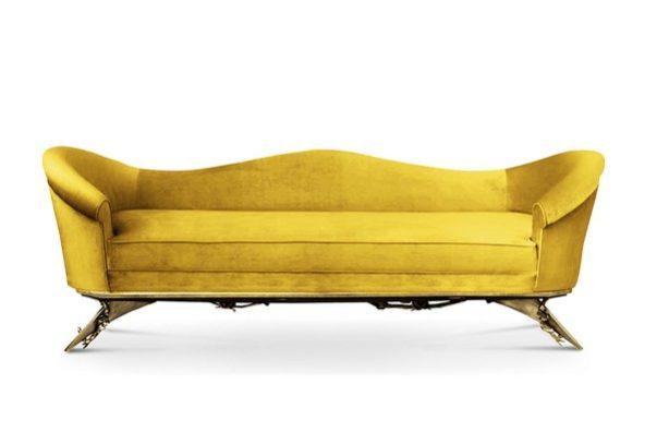 Zdjęcie sofy projektu Colette Sofa by KOKET