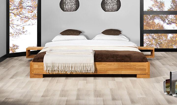 Łóżko Bit z kolekcji japońskiej Beds.pl