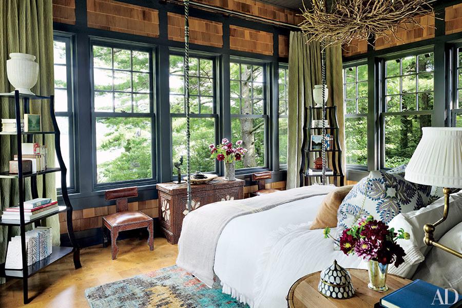 Sypialnia w nowoczesnym hiszpańskim stylu