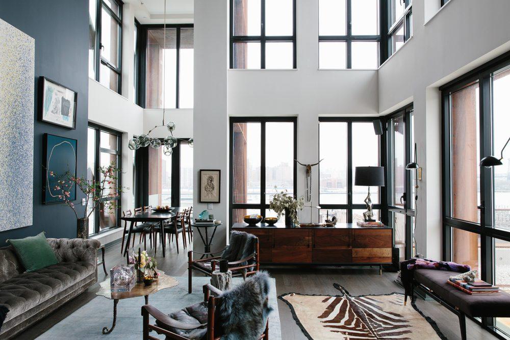Przytulne polskie mieszkanie z elementami stylu Ralpha Laurena