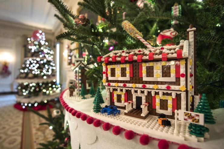 Ozdoba z klocków Lego