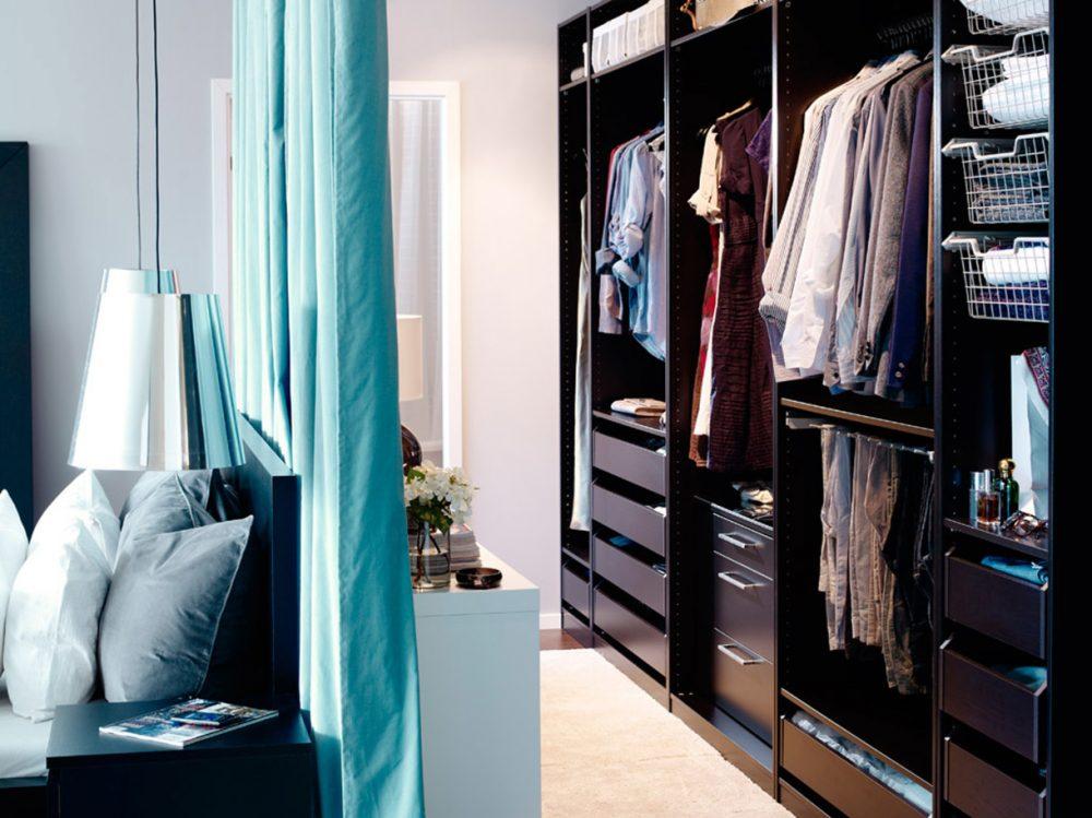 Garderoba za zasłoną