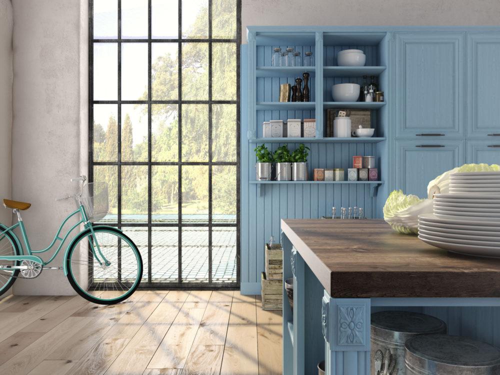 DIY: Przemaluj meble na szwedzki błękit!