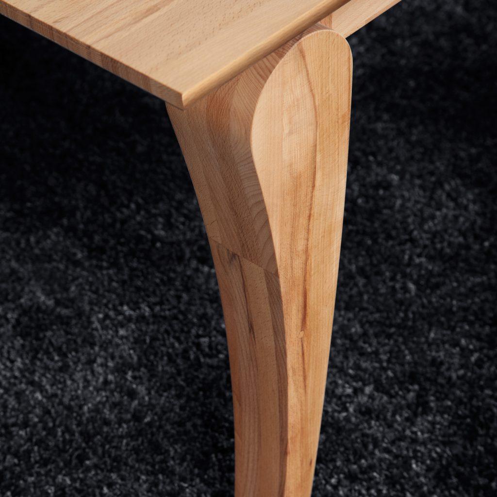 Stół bona - dekoracyjna noga