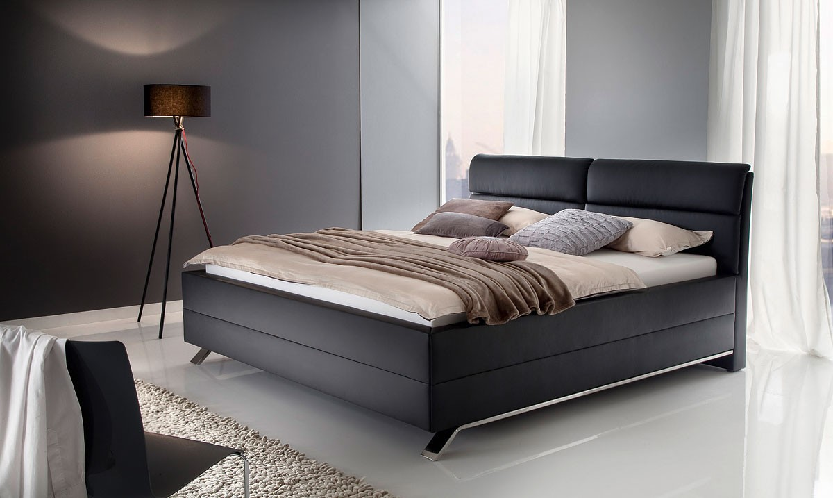 Łóżko z ekoskóry DAVO