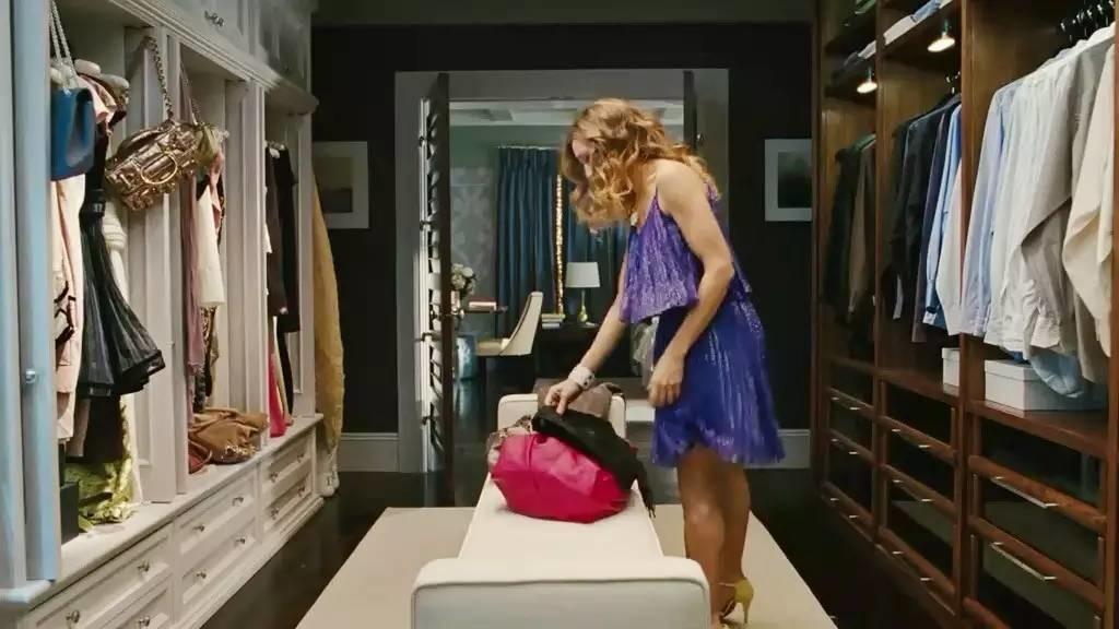 Garderoba Carrie Bradhaw w drugiej części filmu