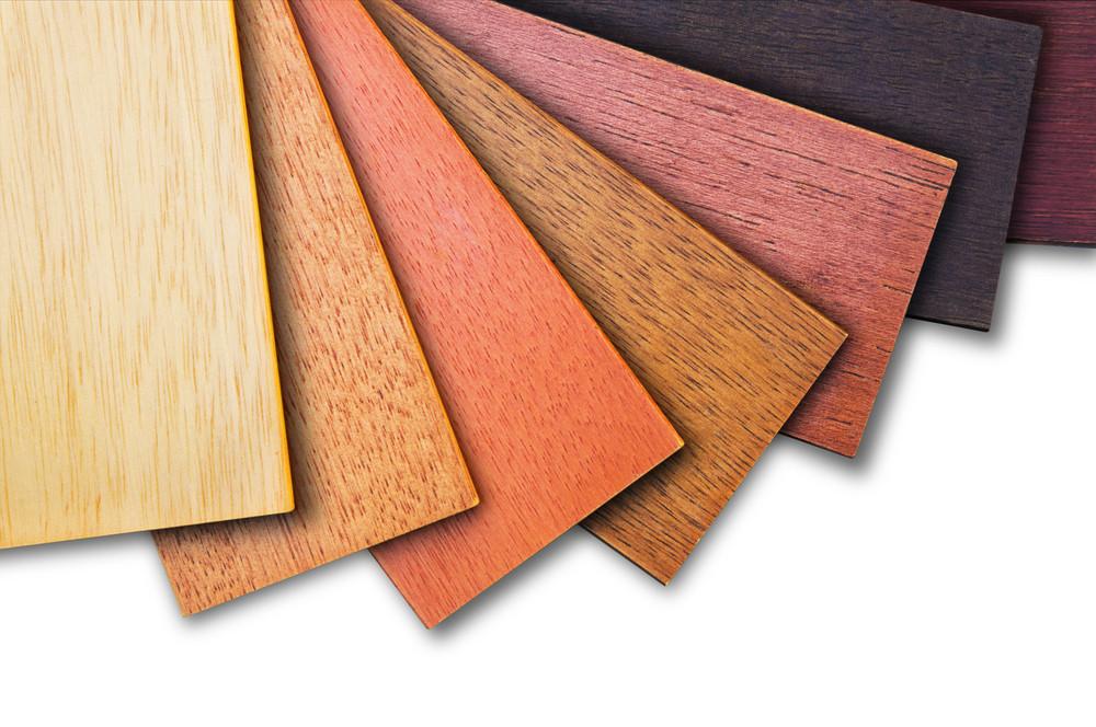 Paleta kolorów drewna