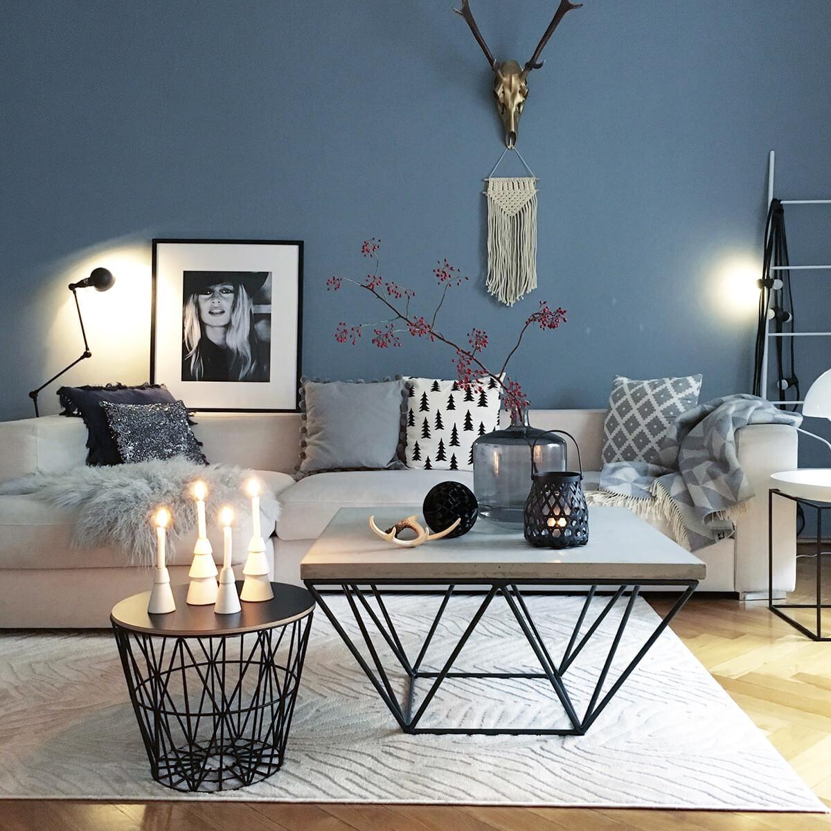 Styl skandynawski z luksusowymi dodatkami i eleganckimi kolorami