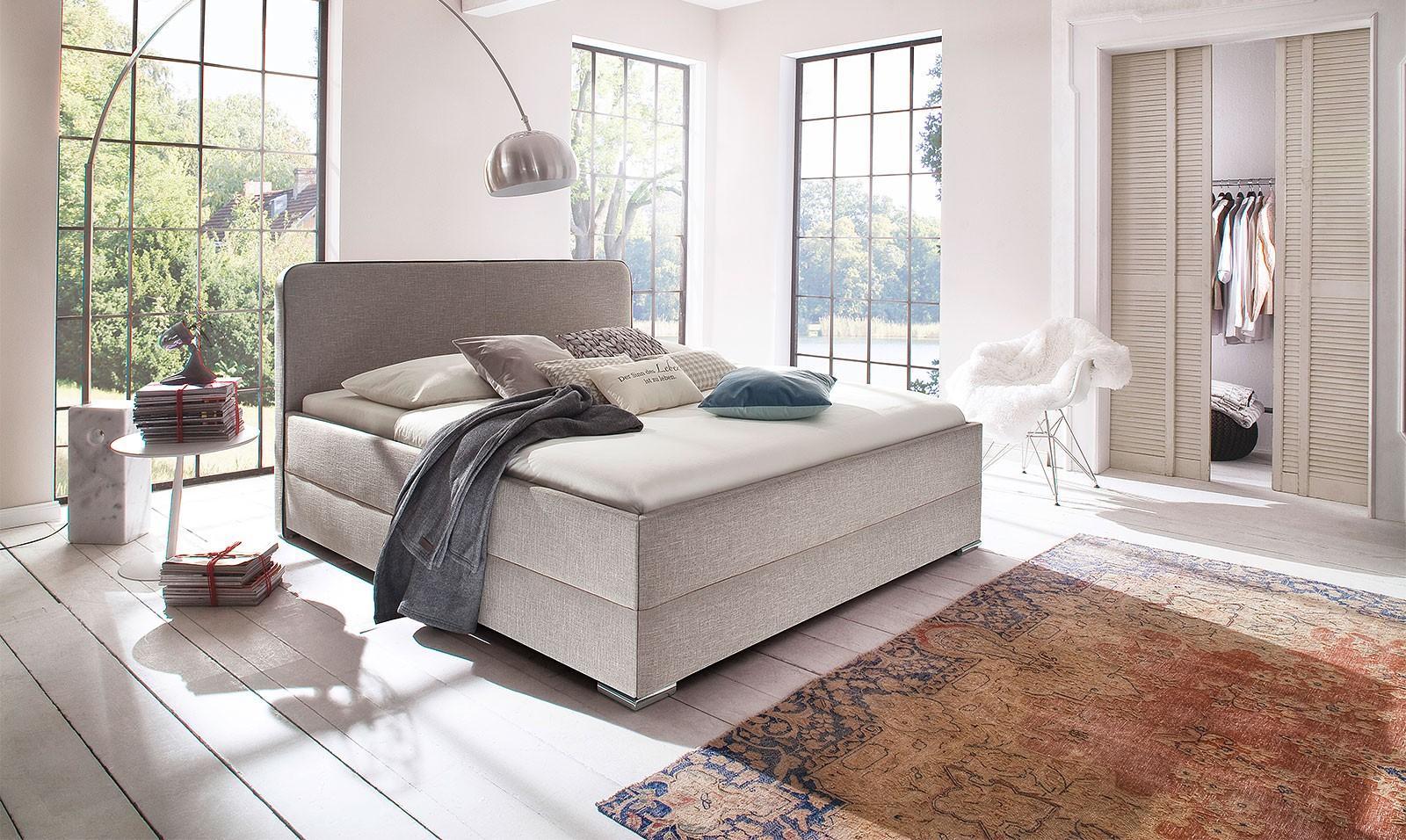 Łóżko Paula z tkaniny