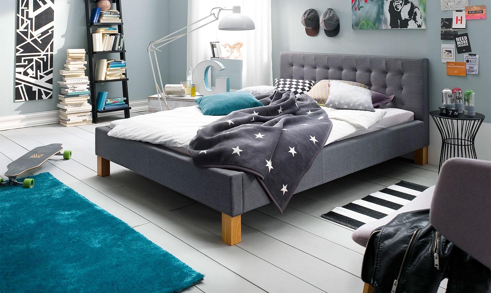 Łóżko Ano tapicerowane