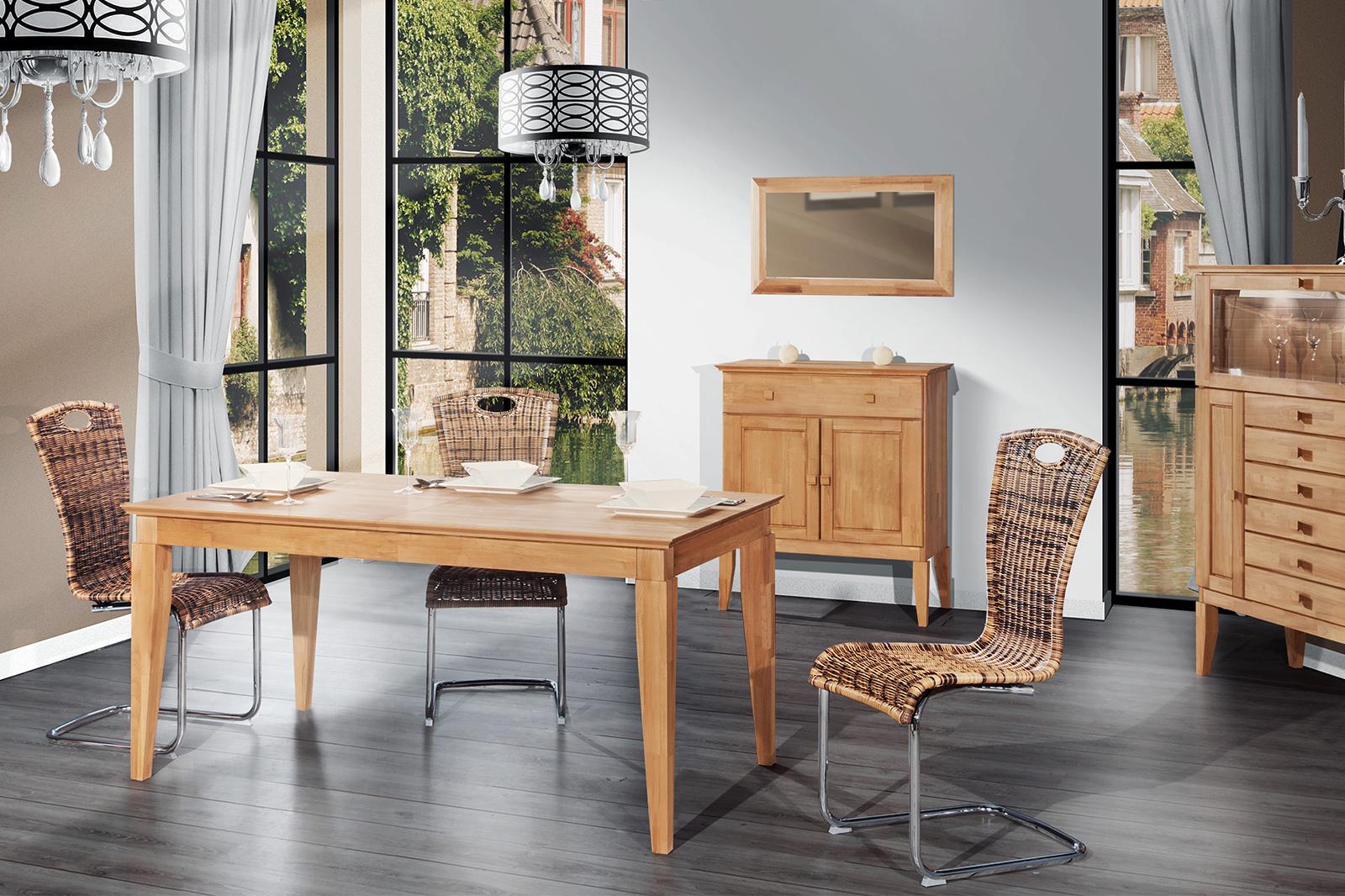 Kolekcja mebli drewnianych do jadalni Odys