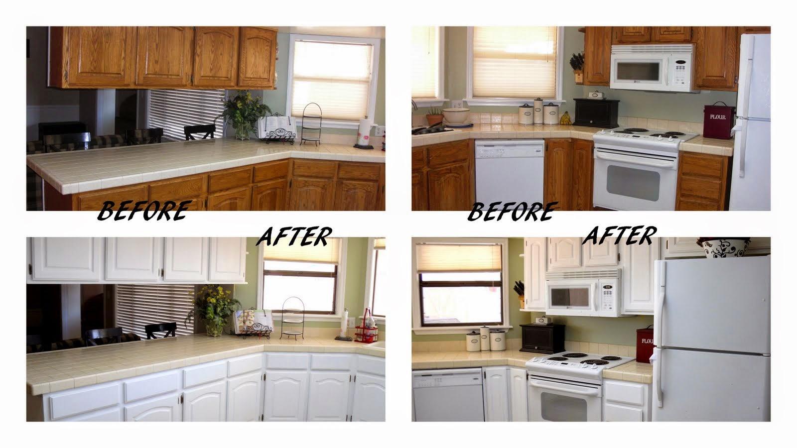 Kuchnia przed i po metamorfozie
