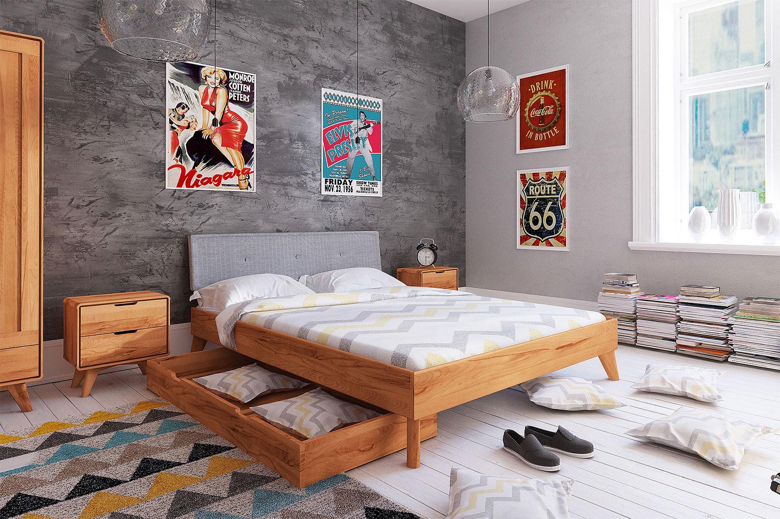 Łóżko drewniane Greg