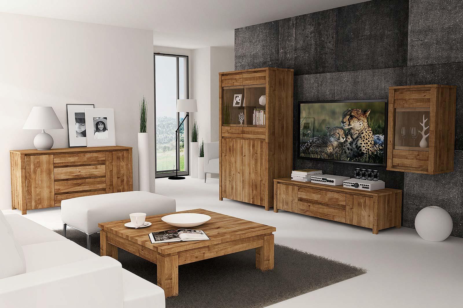 Salon lite drewno z kolekcji Vinci