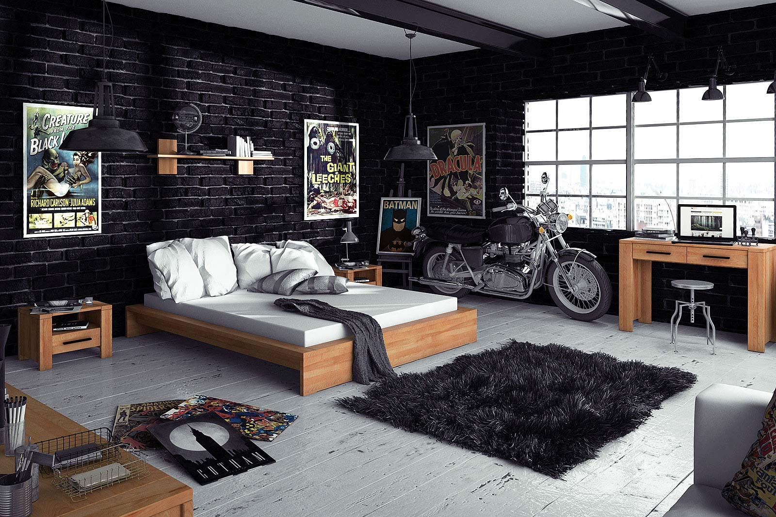 Kolekcja mebli drewnianych do sypialni
